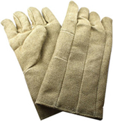 Zetex Plus Gloves (Pair) 14 in. Long; rated to 1800 degrees F