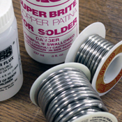 Irons, Solder & Chemicals