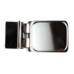 Square Belt Buckle Blank (smaller design than original) Nickel-plated
