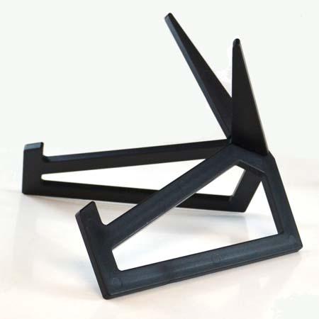 "Small Black Acrylic Display Stand 8-1/2 x 5-1/2"""