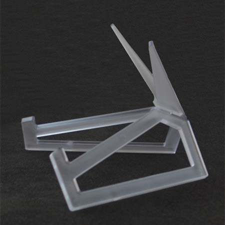 """Small Clear Acrylic Display Stand 8-1/2 x 5-1/2"""""""