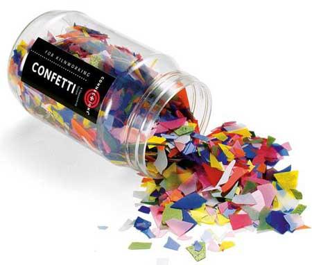 Mini Mix Confetti 90 COE (8 oz jar)
