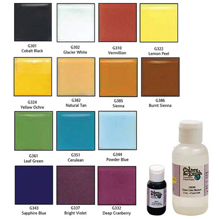 Colors for Earth Sampler Color Kit - 14 Colors - 1/2 oz.