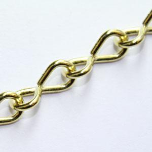 Jack Chain- Brass 16 Gauge (100 feet)