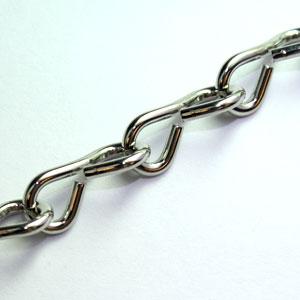 Jack Chain- Nickel 18 Gauge (100 feet)