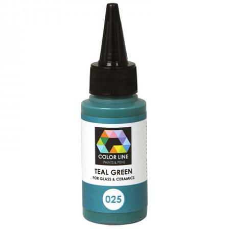 Teal Green Color Line Enamel Pen (Bullseye 008564)