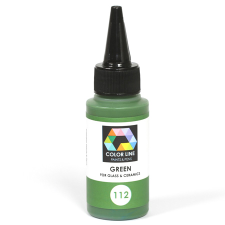 Green Color Line Enamel Pen (Bullseye 008475)