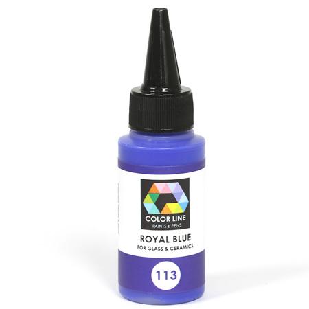 Royal Blue Color Line Enamel Pen (Bullseye 008489)