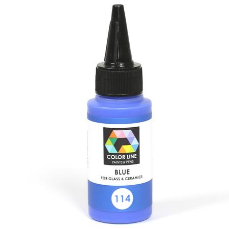 Blue Color Line Enamel Pen (Bullseye 008476)