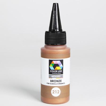 Bronze Color Line Enamel Pen (Bullseye 008496)