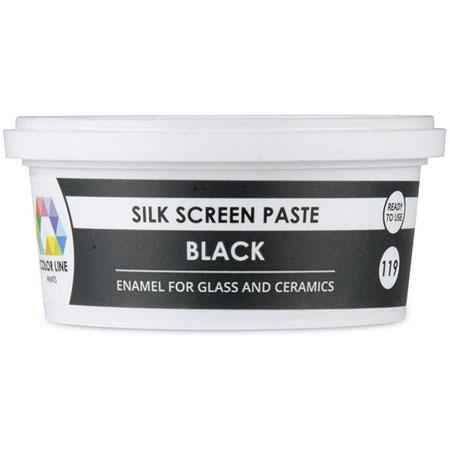 Black Color Line Silk Screen Paste (Bullseye 008481-PSTE)