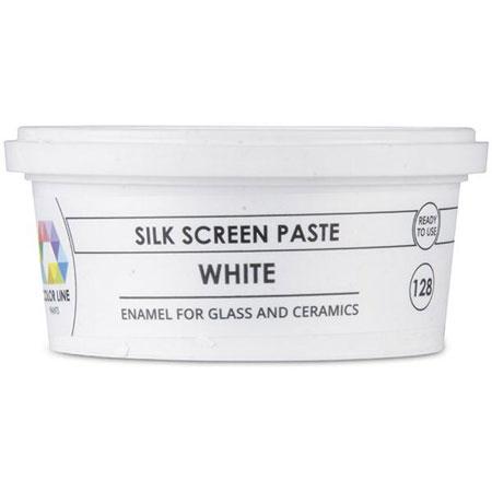 White Color Line Silk Screen Paste (Bullseye 008491-PSTE)