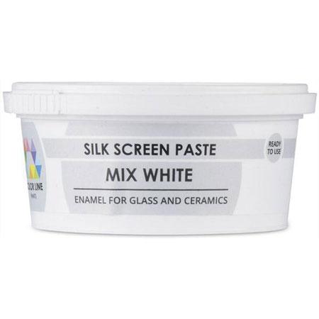 Mixing White Color Line Silk Screen Paste (Bullseye 008473-PSTE)