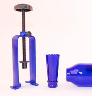 Bottle Neck Cutter - Blue