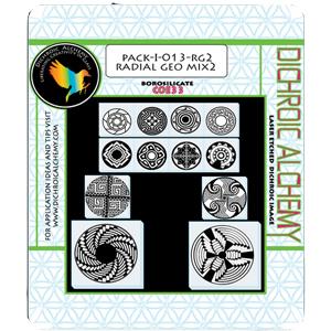 Radial Geo 2 Mix Image Pack - 33 COE