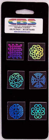 1 in. Dichroic Coated Celtic Pack 90 COE