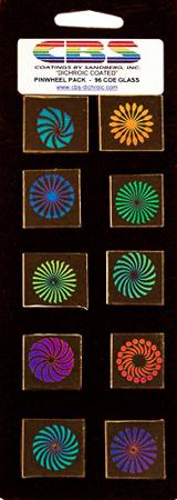 3/4 in. Pinwheels 90 COE