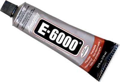 E-6000 Clear Adhesive (3.7 oz.) ++