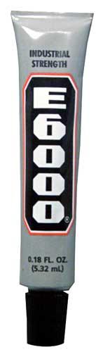 Mini Tube of E6000 Adhesive (0.18 oz) ++