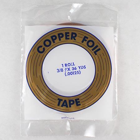 Copper Foil (3/8 in.) 1.25 mil - Edco