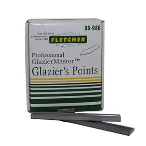 3/ 8 in. Glazier Points for Frame Master Point Driver