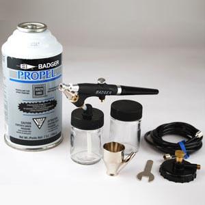 Badger Model 350-3 Airbrush Spray Gun Set++