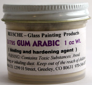 Gum Arabic (1 oz. bottle)