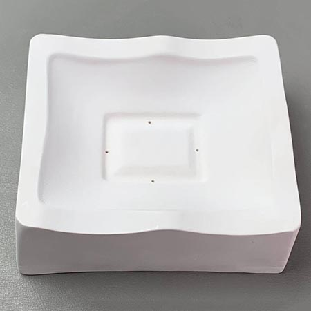 Small Footed Wave Slump Mold - 5 x 4 in.