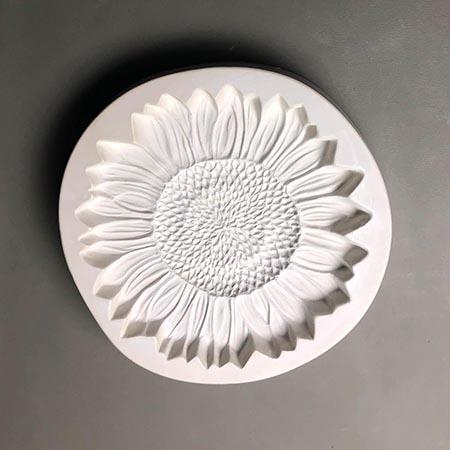 Sunflower Frit Casting Mold - 8 in.