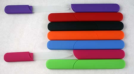 Nail File Assortment - In Case Design (pack of 7)