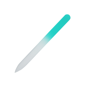 Sea Green Nail File Small 3-5/8 x 3/8 in. (pack of 5)