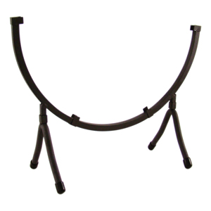 Wrought Iron Circle Display Stand holds 12 in. Circle