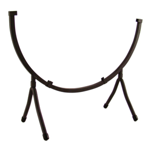 Wrought Iron Circle Display Stand holds 14 in. Circle