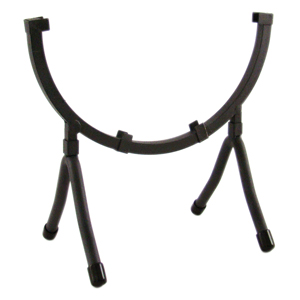 Wrought Iron Circle Display Stand holds 8 in. Circle