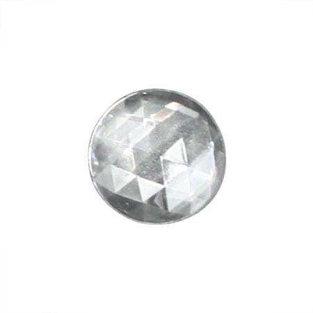 Clear Jewel - Round (25 mm)