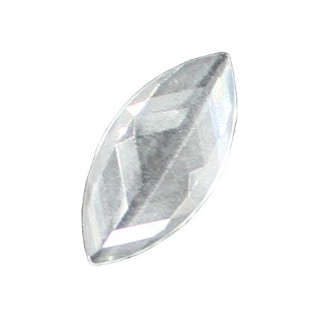 Clear Jewel - Navette 42mm x 20mm