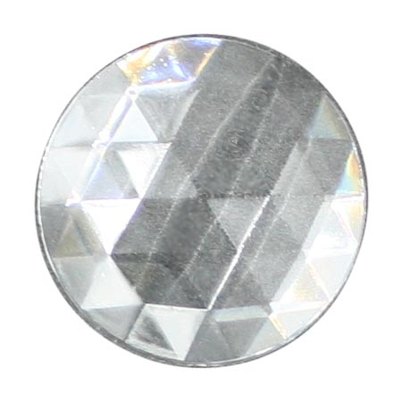 Clear Jewel - Round (50mm)