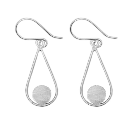 Earrings Teardrop 8mm
