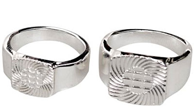Ring Assortment- Silver-plated