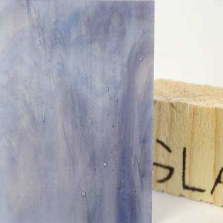 Violet Cathedral / Light Blue Opal / Skim Milk Opal