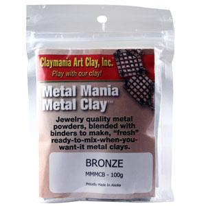 Bronze Metal Clay-100 grams