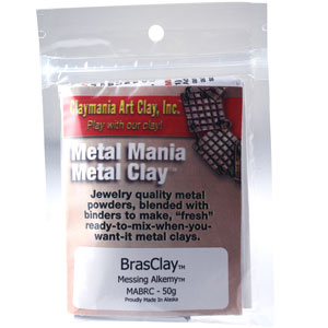 Brass Metal Clay-50 grams
