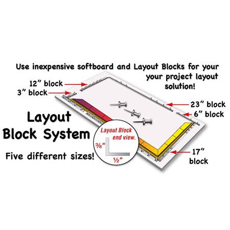 Morton Layout Block System (6 in.)