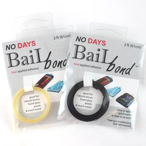No Days Bail Bond Adhesive - Black
