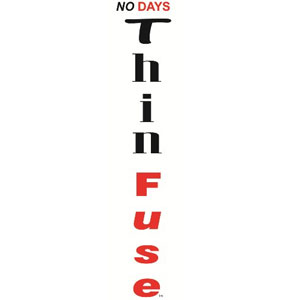 """NO Days ThinFuse Adhesive - 12 x 24"""""""