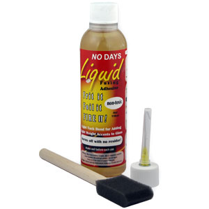 No Days Liquid Fusing Adhesive - 4 oz.