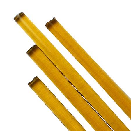 Pale Amber Transparent Rod Fusible 96 COE