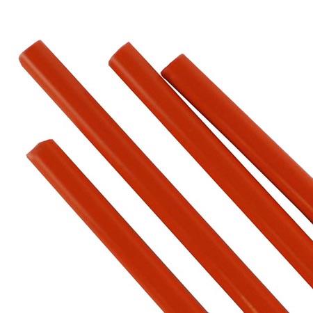 Orange Semi-Opal Rod Fusible 96 COE