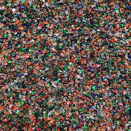 Opals - Crushed Black Shards