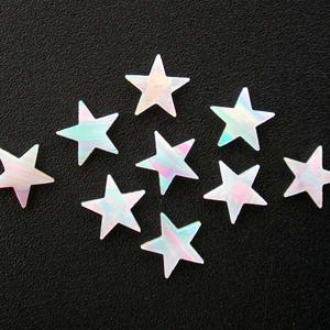 Opals - Star - 4mm - White